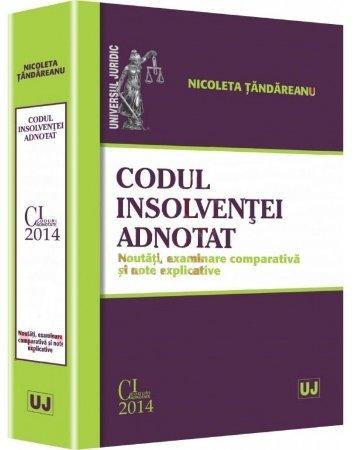 Imagine Codul insolventei adnotat