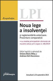 Imagine Noua lege a insolventei si reglementarile anterioare. Prezentare comparativa