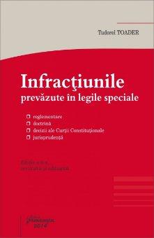 Imagine Infractiunile prevazute in legile speciale ed.6