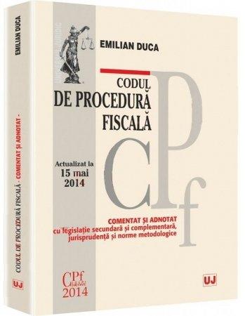 Imagine Codul de procedura fiscala - comentat si adnotat