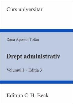 Imagine Drept administrativ - Volumul I. Editia a 3-a