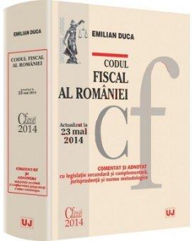 Imagine Codul fiscal al Romaniei - comentat si adnotat