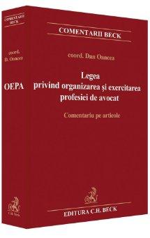 Imagine Legea privind organizarea si exercitarea profesiei de avocat. Comentariu pe articole