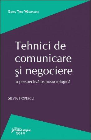 Imagine Tehnici de comunicare si negociere