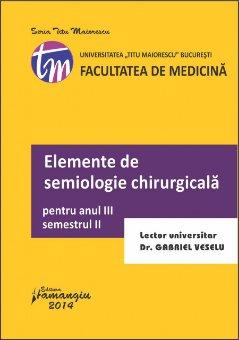 Imagine Elemente de semiologie chirurgicala 2014