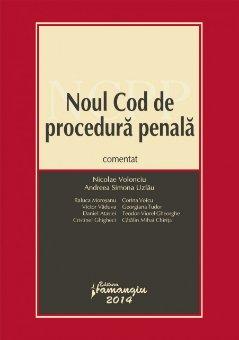 Imagine Noul Cod de procedura penala comentat