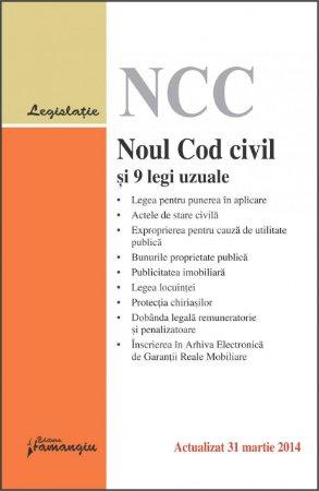Imagine Noul cod civil si 9 legi uzuale 31.03.2014