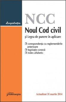 Imagine Noul Cod civil si Legea de punere in aplicare 31.03.2014