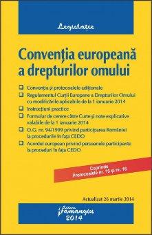 Imagine Conventia europeana a drepturilor omului 26.03.2014