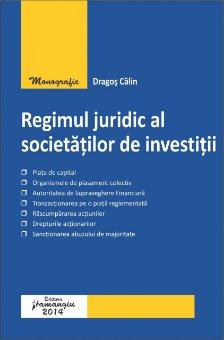 Imagine Regimul juridic al societatilor de investitii