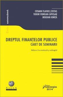 Imagine Dreptul finantelor publice. Caiet de seminarii