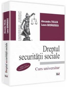 Imagine Dreptul securitatii sociale. Curs universitar