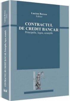 Imagine Contractul de credit bancar. Principiile, legea, uzantele