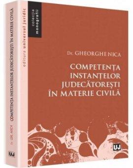 Imagine Competenta instantelor judecatoresti in materie civila