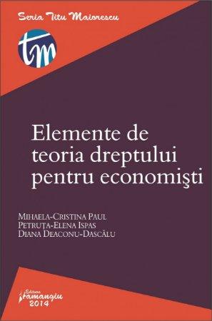 Imagine Elemente de teoria dreptului pentru economisti
