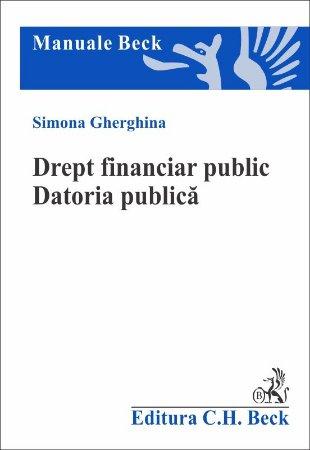 Imagine Drept financiar public. Datoria publica