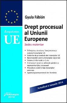 Imagine Drept procesual al Uniunii Europene