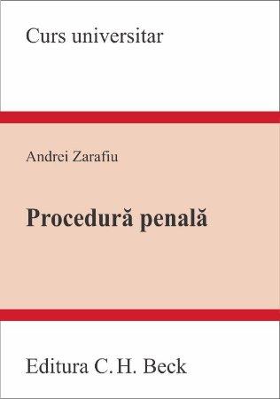 Imagine Procedura penala. Curs universitar