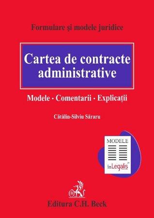 Imagine Cartea de contracte administrative. Modele. Comentarii. Explicatii
