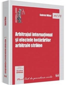 Imagine Arbitrajul international si efectele hotararilor arbitrale straine