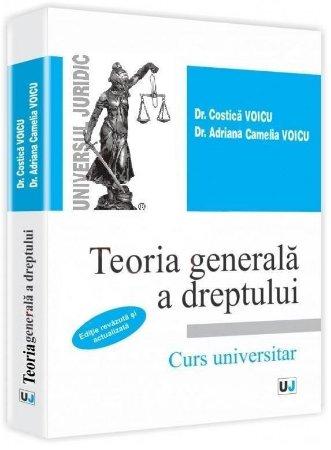 Imagine Teoria generala a dreptului - Curs universitar