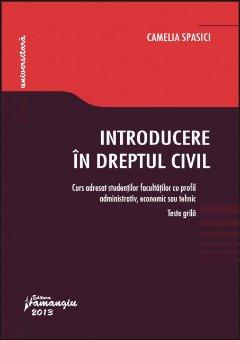 Imagine Introducere in dreptul civil. Teste grila