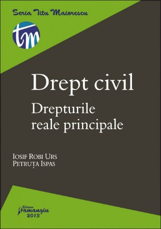 Imagine Drept civil. Drepturile reale principale