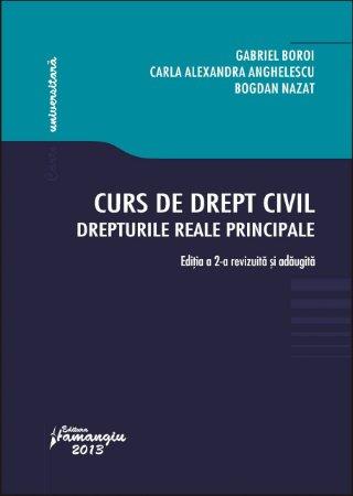 Imagine Curs de drept civil. Drepturile reale principale. Editia a 2-a