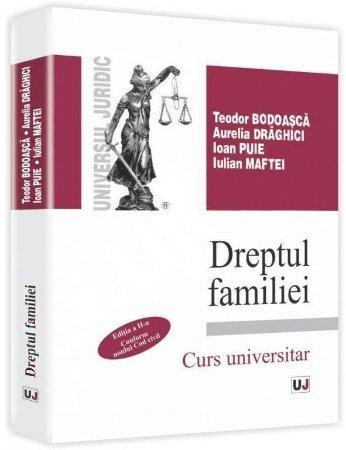 Imagine Dreptul familiei. Conform noului Cod Civil. Editia a 2-a