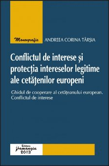 Imagine Conflictul de interese si protectia intereselor legitime ale cetatenilor europeni