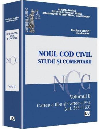 Imagine Noul Cod Civil. Studii si comentarii - Volumul II