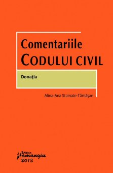 Imagine Comentariile Codului civil. Donatia