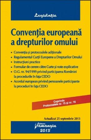 Imagine Conventia europeana a drepturilor omului  25.09.2013