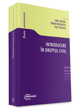 Imagine Introducere in dreptul civil