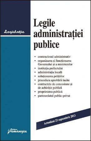 Imagine Legile administratiei publice 23.09.2013