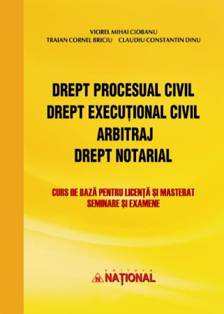 Imagine Drept procesual civil. Drept executional civil. Arbitraj. Drept notarial