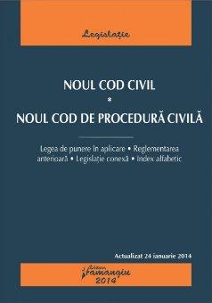 Imagine Noul Cod Civil. Noul Cod de procedura civila 11.09.2013