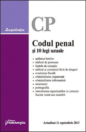 Imagine Codul penal si 10 legi uzuale 11.09.2013
