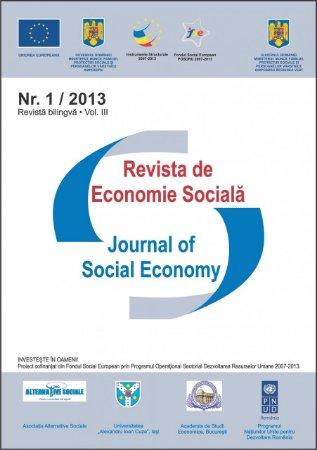 Imagine Revista de Economie Sociala, Nr. 1/2013