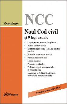 Imagine Noul cod civil si 9 legi uzuale 15.11.2013