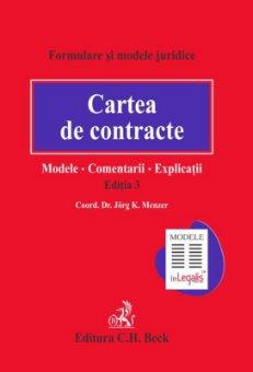 Imagine Cartea de contracte: modele, comentarii, explicatii - editia a 3-a