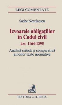Imagine Izvoarele obligatiilor in Codul civil art. 1164-1395