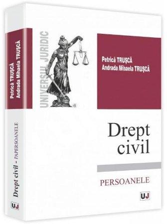 Imagine Drept civil. Persoanele - curs universitar