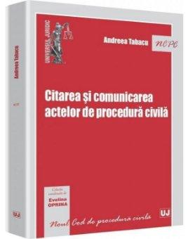 Imagine Citarea si comunicarea actelor de procedura civila