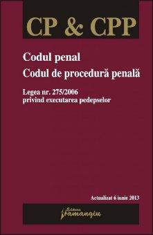 Imagine Codul penal. Codul de procedura penala 6.06.2013