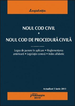 Imagine Noul Cod Civil. Noul Cod de procedura civila 5.06.2013