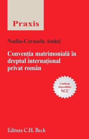 Imagine Conventia matrimoniala in dreptul international privat roman