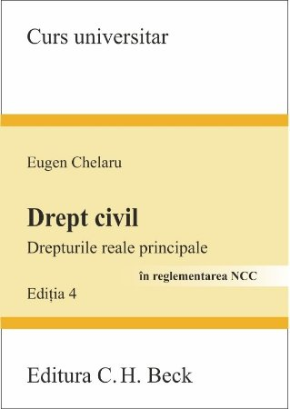 Imagine Drept civil. Drepturile reale principale - editia a 4-a