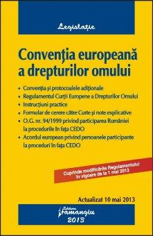 Imagine Conventia europeana a drepturilor omului  10.05.2013