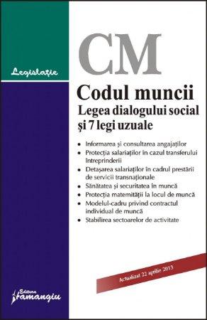Imagine Codul muncii. Legea dialogului social si 7 legi uzuale 22.04.2013